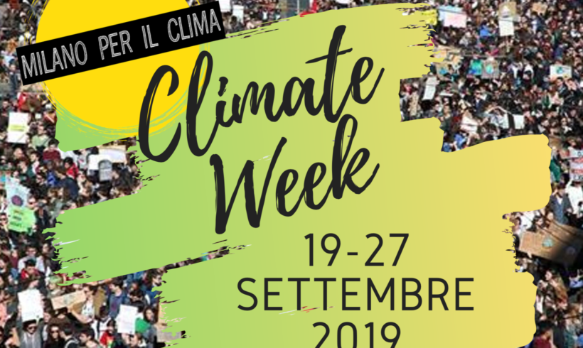 Climate Week – 19/27 Settembre 2019